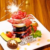 【誕生日☆】肉ケーキでサプライズのお手伝い♪