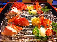 富山の新鮮な魚介類を手頃な料金で!