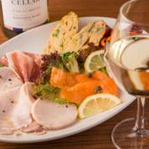 本格イタリアンを日替わりでご用意♪前菜からメイン、デザートまでワインによく合うお料理がそろっています。