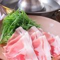 料理メニュー写真九条ネギしゃぶしゃぶ
