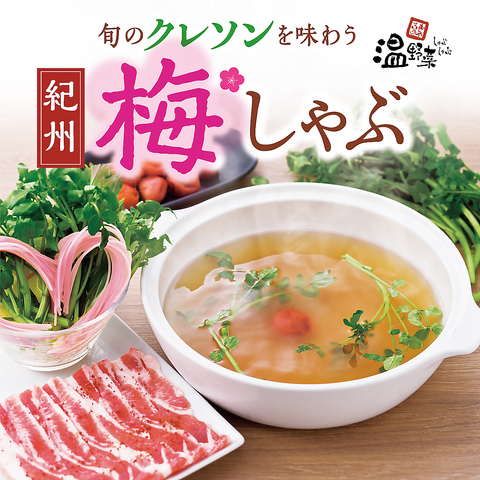 しゃぶしゃぶ温野菜では旬のお野菜・厳選したお肉・多彩なだしをご用意しております☆