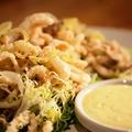 料理メニュー写真■Crispy Calamari / ヤリイカのフリット