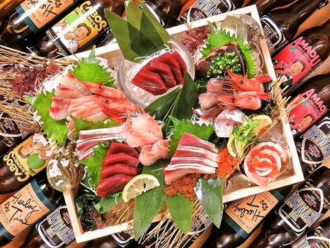 【大名ど真ん中!】海鮮×クラフトビール♪九州海鮮居酒屋ぐびっと!