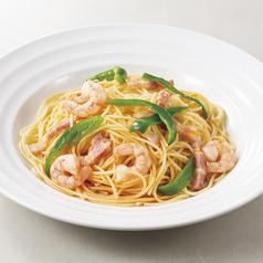 料理メニュー写真エビピー! 海老とピーマンのピリ辛スパゲッティ