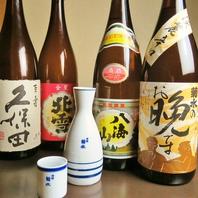 日本酒・焼酎の銘柄には自信あり!