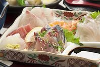 新鮮な海鮮料理をご堪能ください