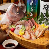 豊洲直送の地鮮魚のお刺身盛り合わせ(^^♪