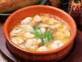 料理メニュー写真海老とマッシュルームのアヒージョ