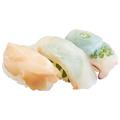 料理メニュー写真北海道の幸せ運ぶ三貫盛り