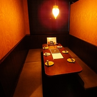 6~10名まで可能な半個室。女子会・コンパなど利用に◎