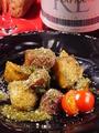 料理メニュー写真オーガニックフライドポテト