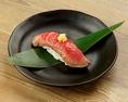 炙り肉寿司【ローストビーフ】