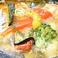 海老と彩り野菜のアヒージョ