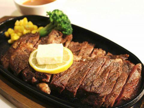 【ボリューム満点ステーキなど】肉肉コース全8品2H飲み放題付き4000円!!