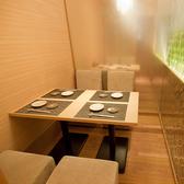 4名テーブル個室