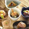 料理長こだわりの「の水会席コース」は、旬の食材を使ったメニューになっております。