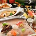 【期間限定コース】2H飲み放題付全6品4000円~その日仕入れた鮮魚の刺身、天麩羅、煮付、鶏肉の甘辛和えなど自家製デザートまでついて、石松一押しメニューが味わえます。