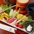 料理メニュー写真野菜ソムリエ厳選!旬野菜のバーニャカウダー