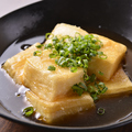 料理メニュー写真鶏昆布出汁の揚げだし豆腐