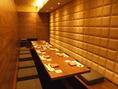 完全個室あります。会食や接待に…