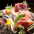 瀬戸内昼網鮮魚を毎日仕入れ!!
