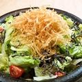 料理メニュー写真和風創味サラダ