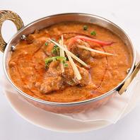 スパイス豊富な美味しいカレー&インド料理♪