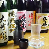 地酒・厳選本格焼酎も多く取り揃えております!