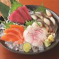 料理メニュー写真直送鮮魚入り刺身盛り合せ