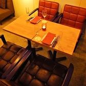 夜カフェご飯するときに最適のお席♪