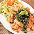 料理メニュー写真ナン・ガイ・トート(鶏皮のから揚げ)