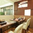 テーブル席は大人数様宴会にも対応いただけます。