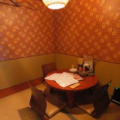 円卓個室です
