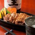 料理メニュー写真健味鶏鉄板もも焼き