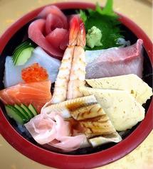 ちらし寿司 (茶碗蒸し、味噌汁付き)