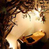 流木が聳え立つゆったり6名個室