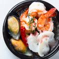 料理メニュー写真海老のアヒージョ/タコ、ムール、海老のアヒージョ/牡蠣のアヒージョ/牛肉のアヒージョ