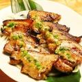 料理メニュー写真豚バラ肉の香味焼き