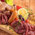 《北海道肉料理》北海道の地のものを使った肉料理はもちろん、まで充実の創作和食をご用意しております。その時々、季節の味をご堪能下さい。
