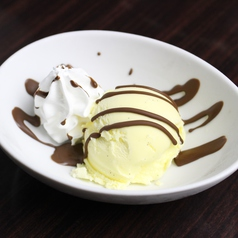 料理メニュー写真チョコアイス