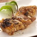 料理メニュー写真鶏の黒七味焼き