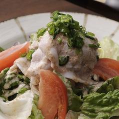 千葉県産SPFポークの冷しゃぶサラダ