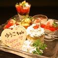 誕生日や記念日には主賓のお客様に名前入デザートプレートを1枚サプライズでサービス♪ディナーのみのサービスになりますが、ランチや2枚目も1枚1500円で追加することが出来ます!ご要望などございましたらお気軽にご相談下さい![東銀座 築地 和食居酒屋]