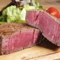 料理メニュー写真熟成肉のステーキ