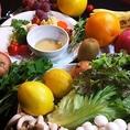 産地野菜を使用!毎日新鮮野菜をお届けしています。