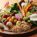 料理メニュー写真野菜BAR