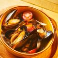 料理メニュー写真ムール貝のビール蒸し
