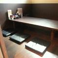 少人数でも利用しやすい個室。