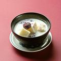 料理メニュー写真手作り杏仁豆腐