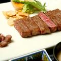 料理メニュー写真黒毛和牛サーロイン/100g